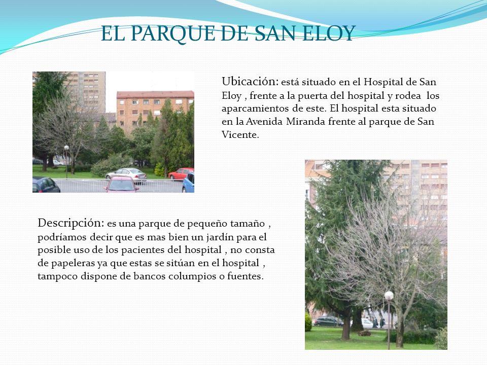EL PARQUE DE SAN ELOY