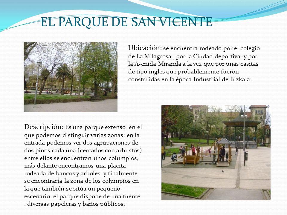 EL PARQUE DE SAN VICENTE