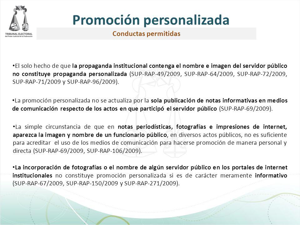 Promoción personalizada