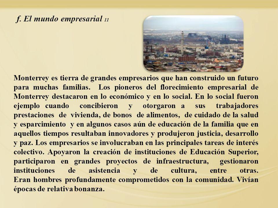 f. El mundo empresarial 11