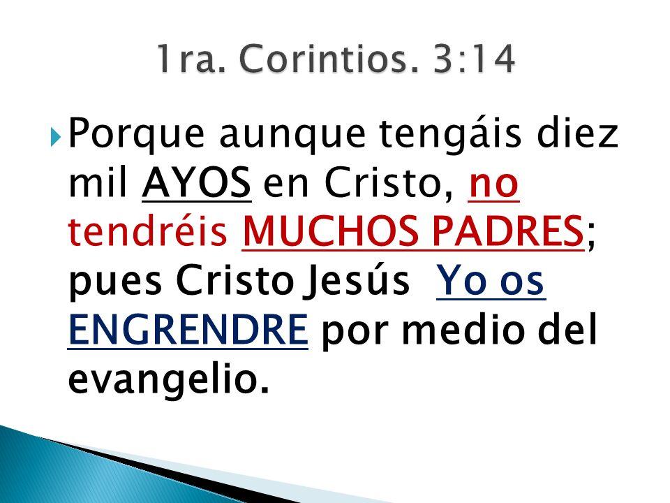1ra. Corintios. 3:14