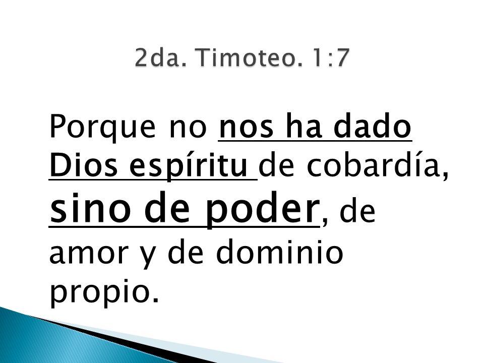 2da. Timoteo.