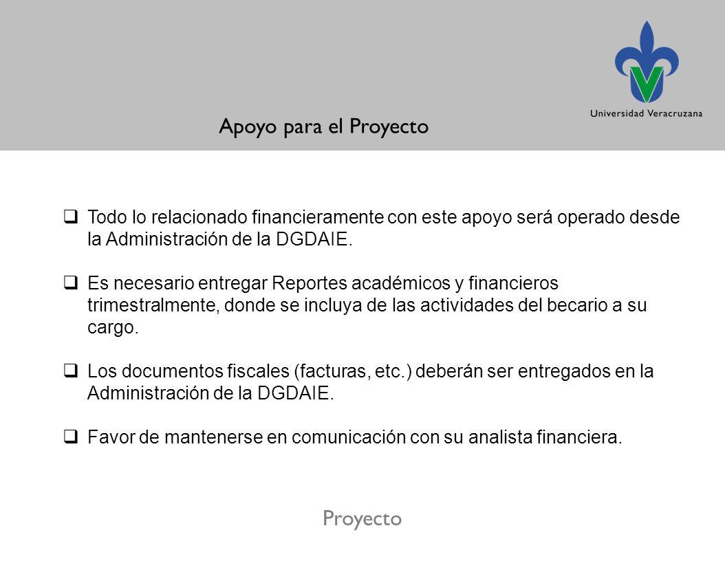 Apoyo para el Proyecto Proyecto