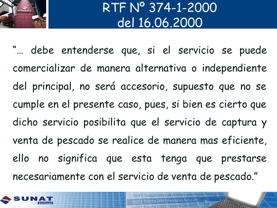 RTF Nº 374-1-2000 del 16.06.2000.