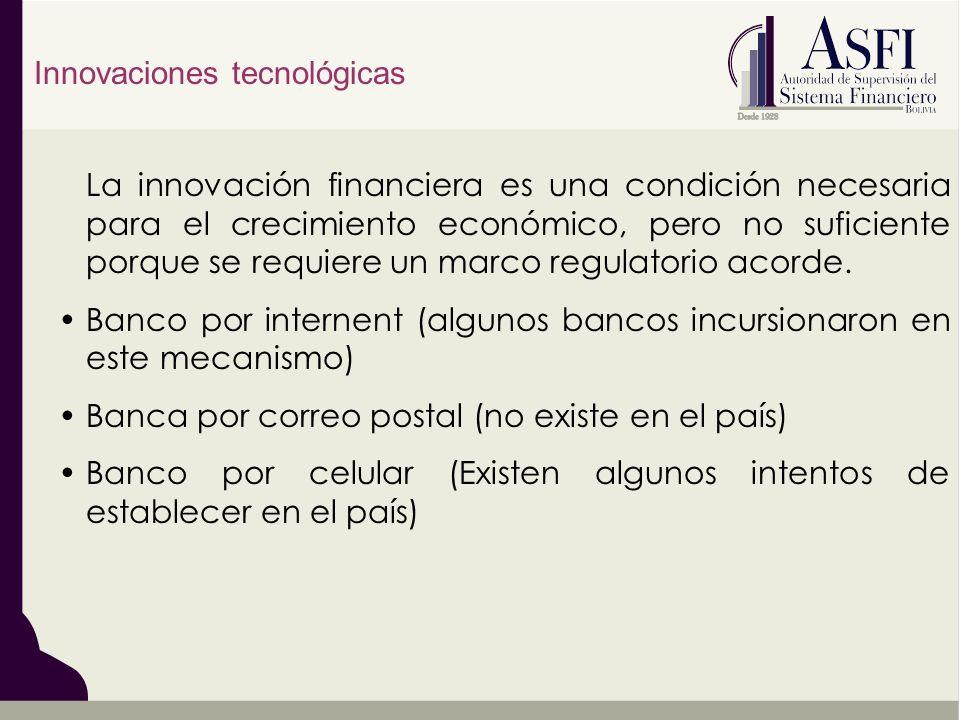 Innovaciones tecnológicas