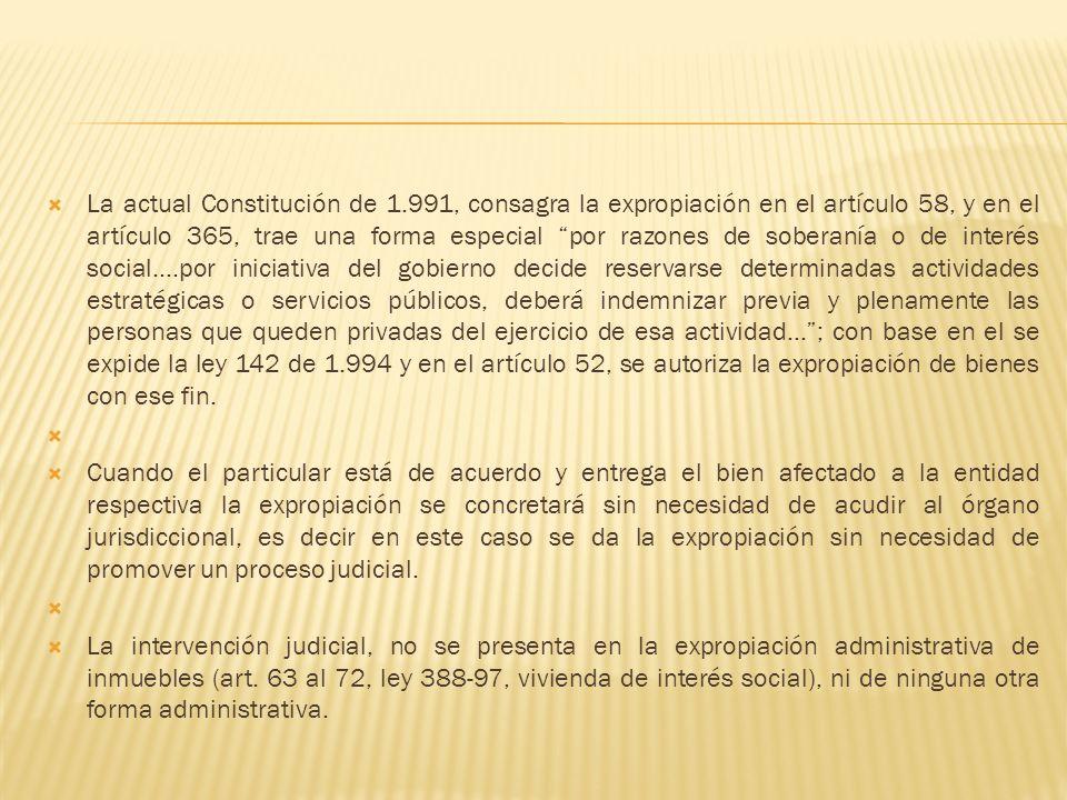 La actual Constitución de 1