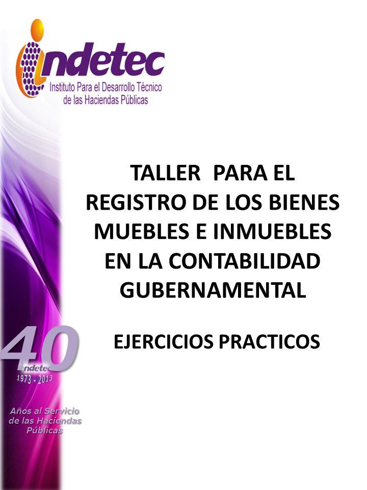Años al Servicio de las Haciendas. Públicas. 40. 1973 - 2013.