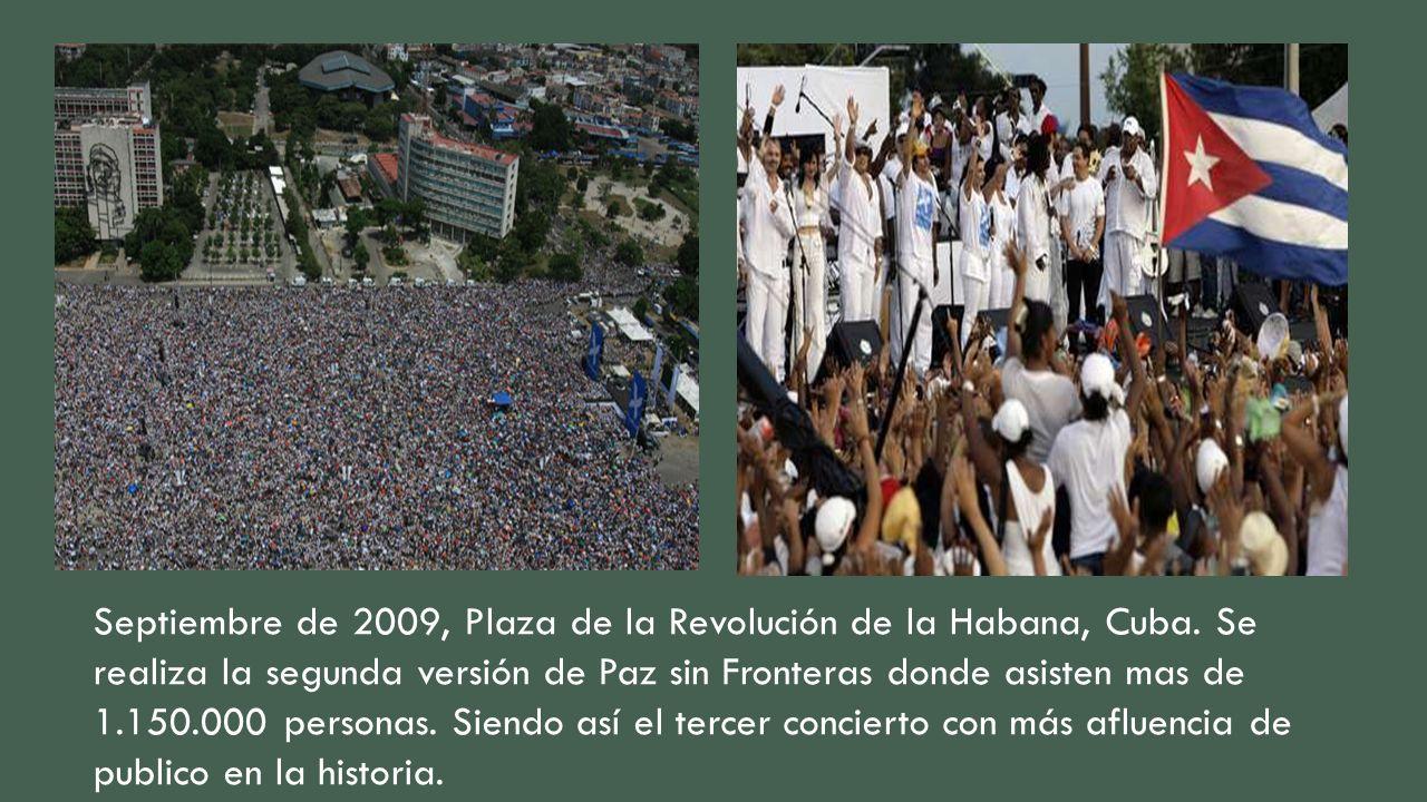 Septiembre de 2009, Plaza de la Revolución de la Habana, Cuba