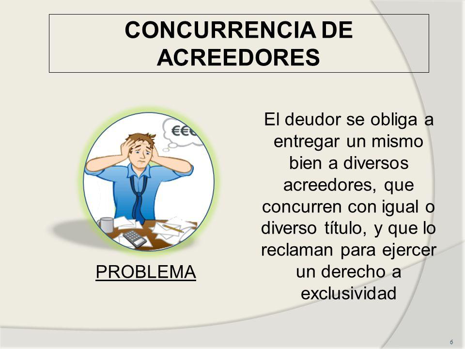 CONCURRENCIA DE ACREEDORES