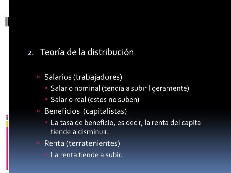 Teoría de la distribución