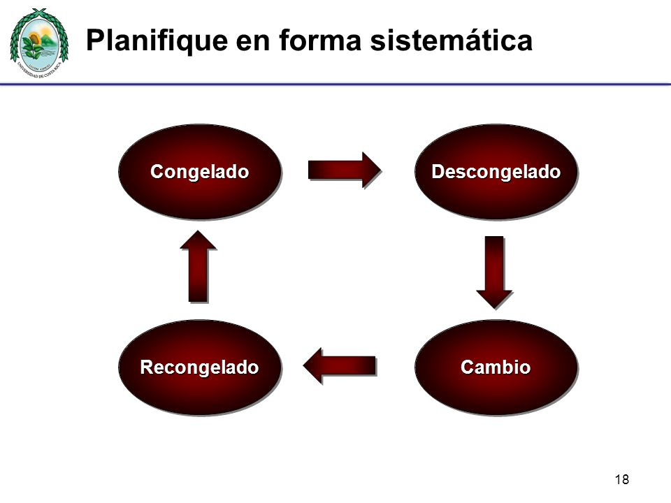 Planifique en forma sistemática