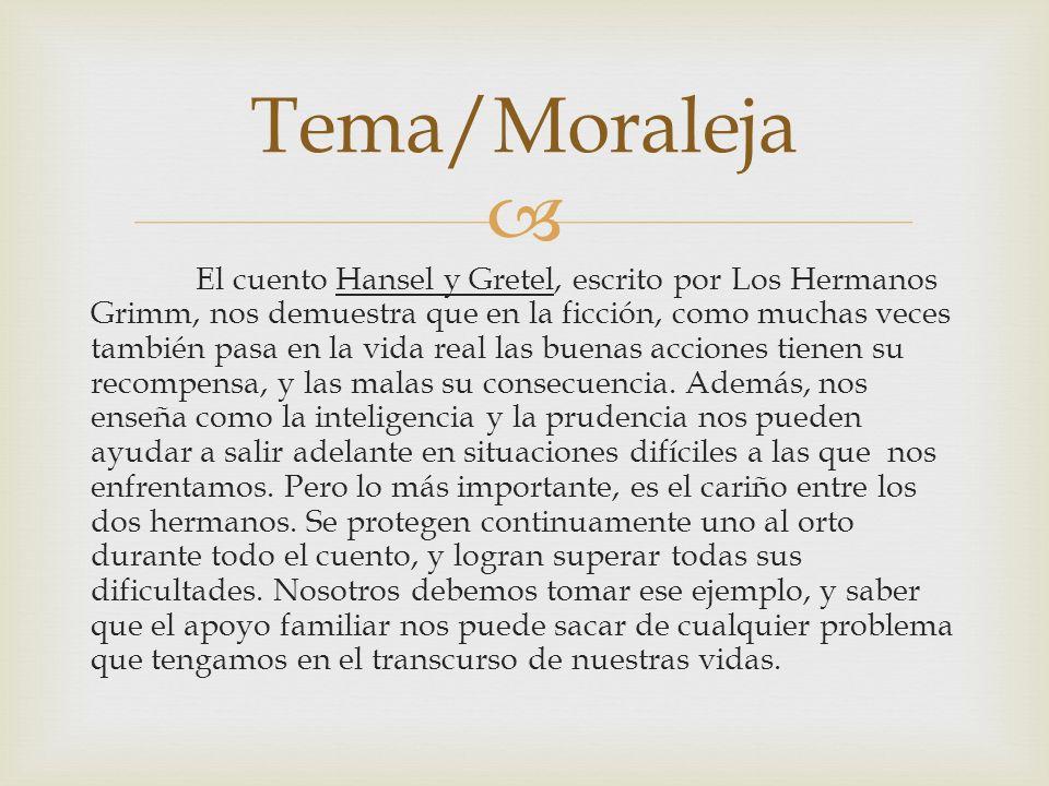 Tema/Moraleja