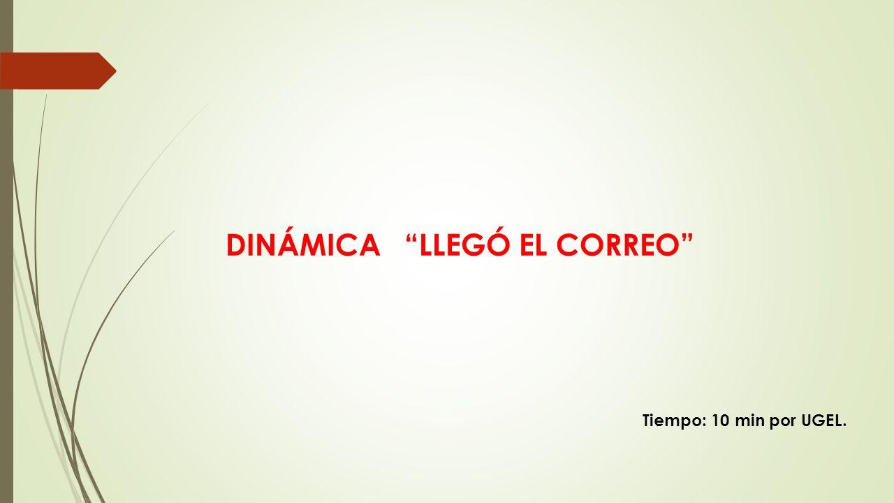 DINÁMICA LLEGÓ EL CORREO