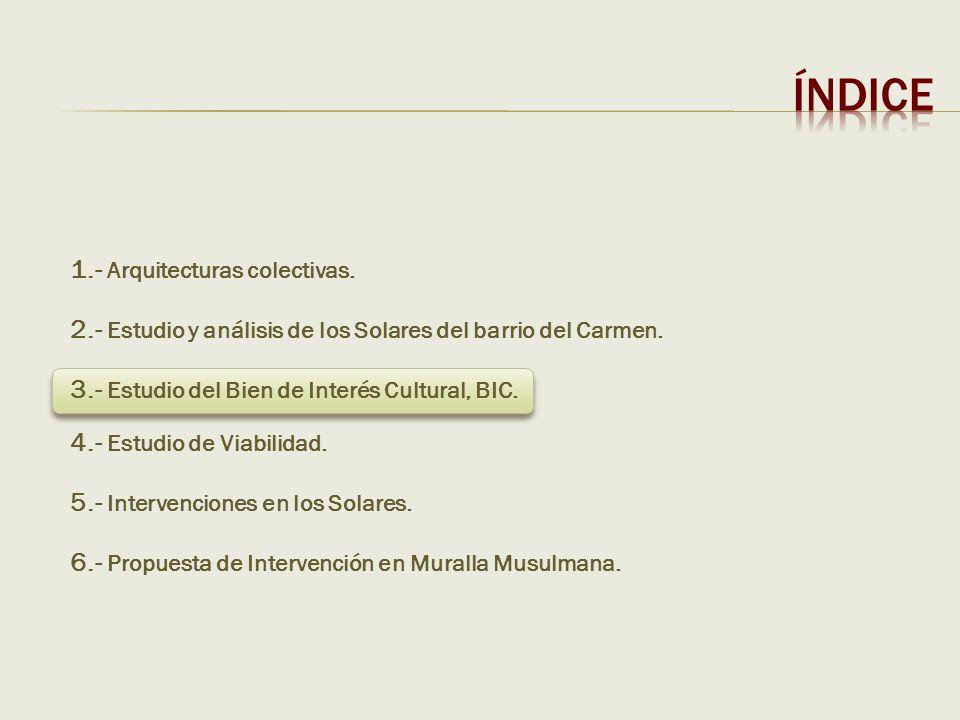 ÍNDICE 1.- Arquitecturas colectivas.