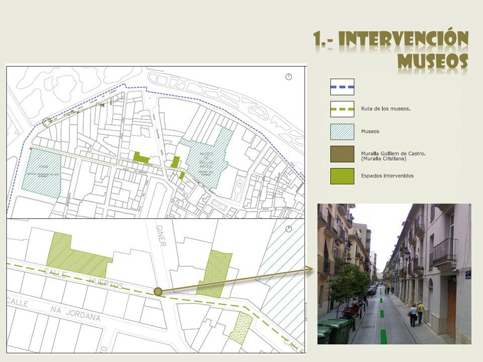 1.- intervención museos.