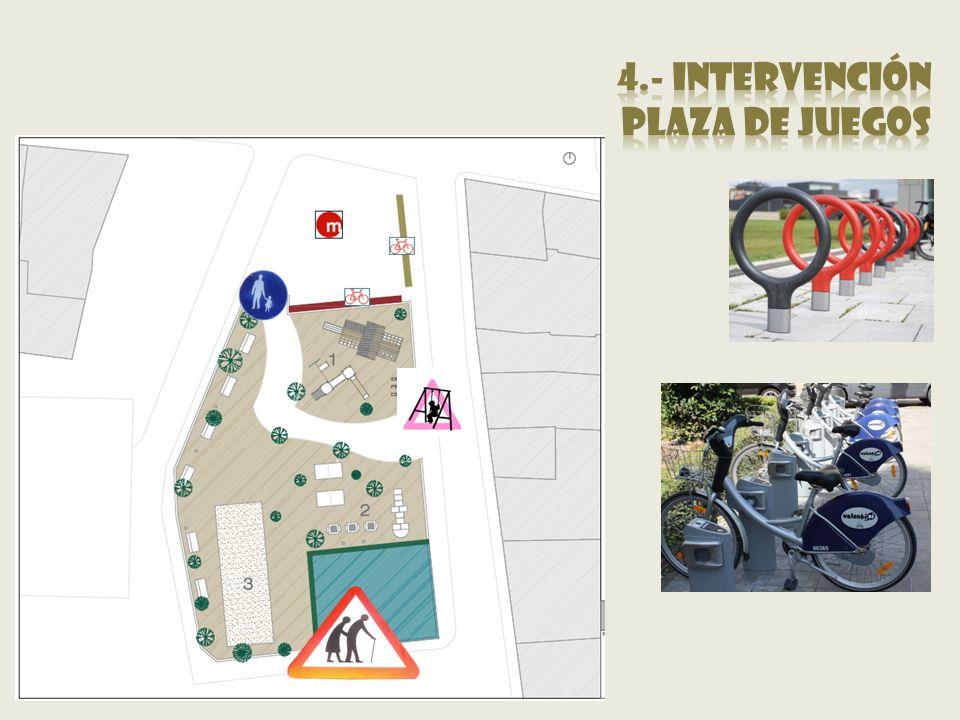 4.- intervención Plaza de juegos