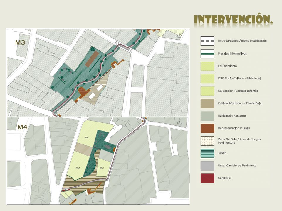 intervención. M3 M4 Exposiciones Itinerantes Murales informativos