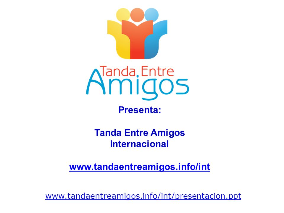 Presenta: Tanda Entre Amigos Internacional