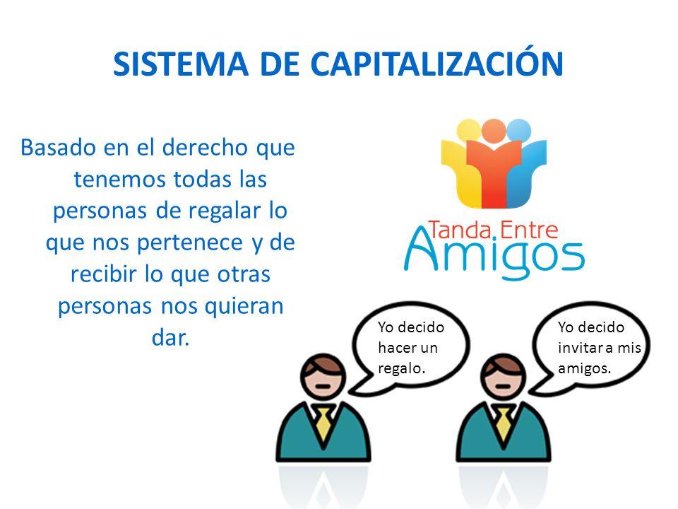 SISTEMA DE CAPITALIZACIÓN