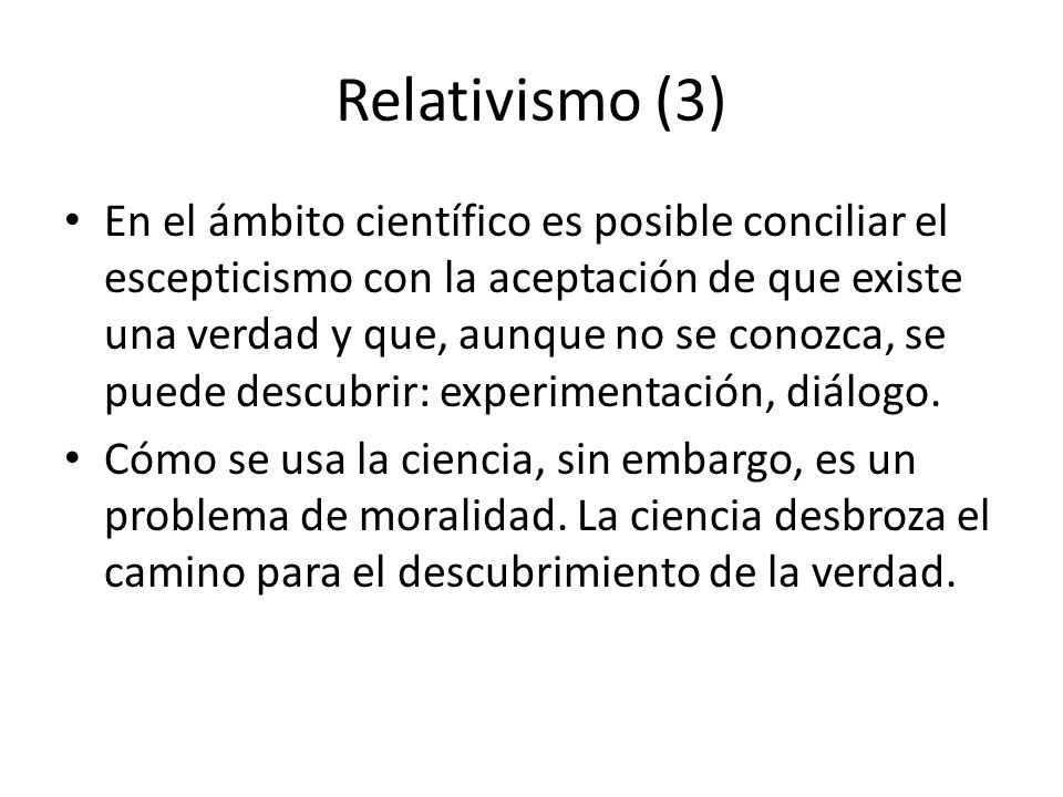 Relativismo (3)