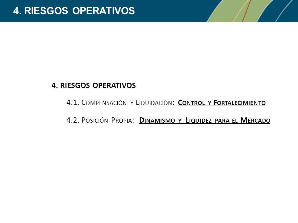 4. RIESGOS OPERATIVOS 4. RIESGOS OPERATIVOS
