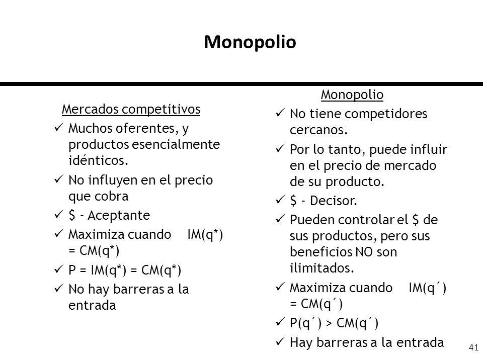 Mercados competitivos