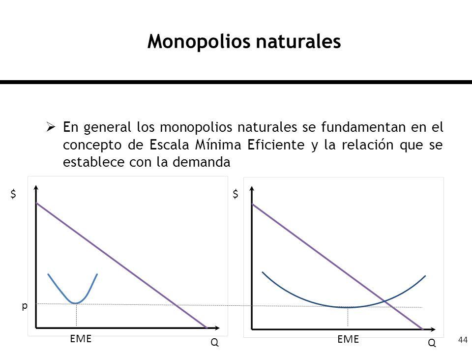 Monopolios naturales