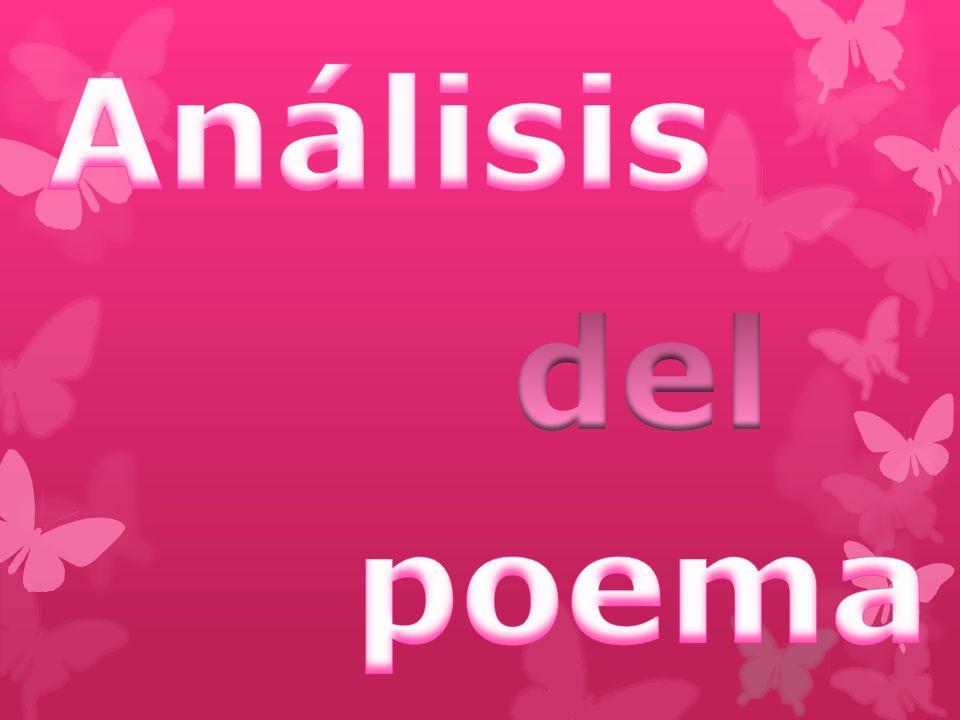Análisis del poema