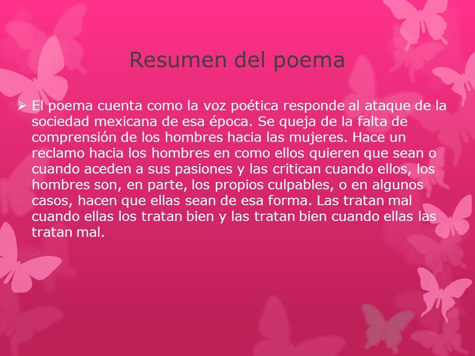 Resumen del poema