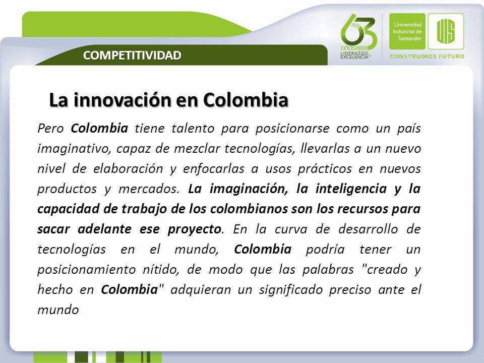 La innovación en Colombia