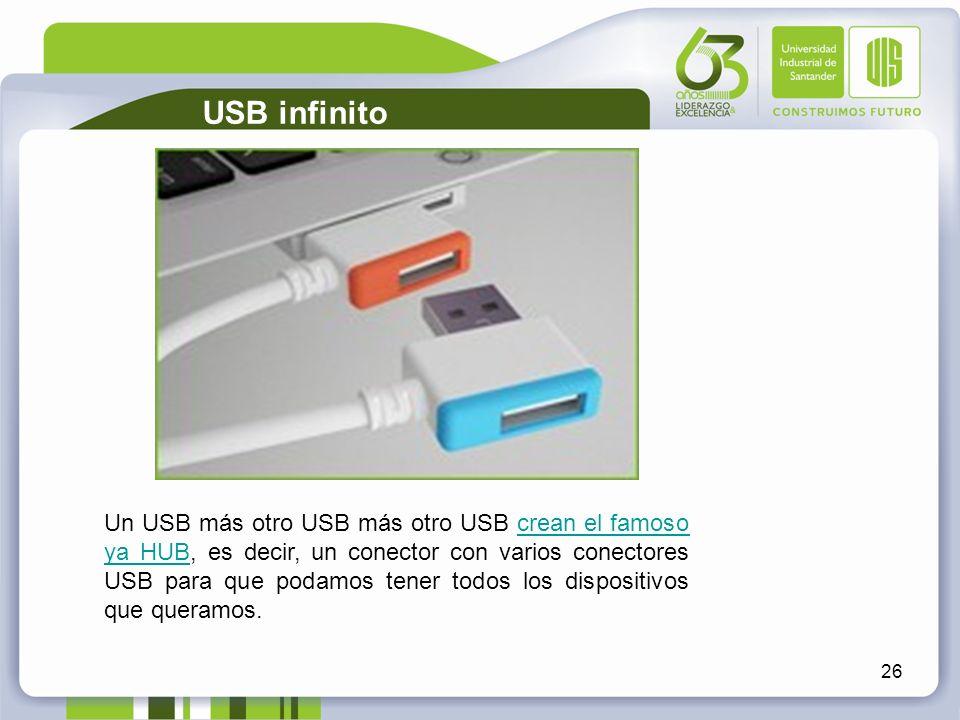 USB infinito
