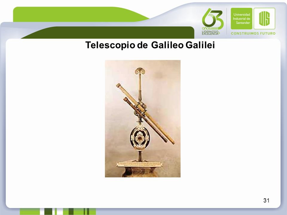 Telescopio de Galileo Galilei