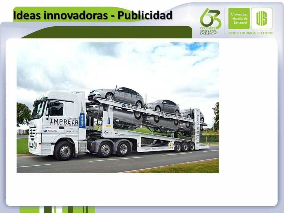 Ideas innovadoras - Publicidad