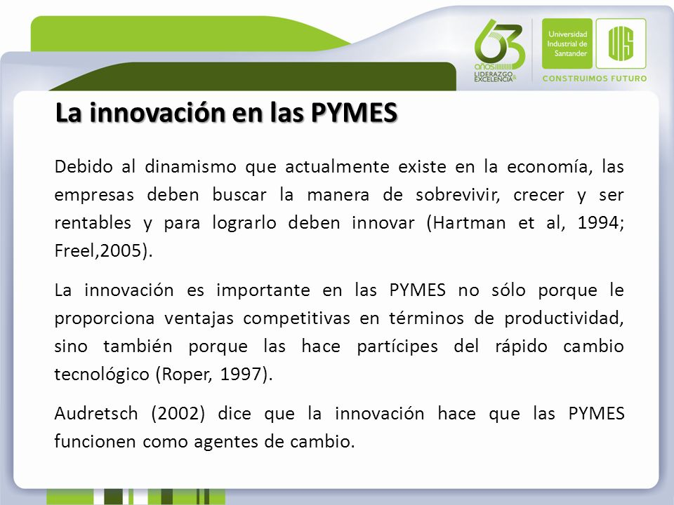 La innovación en las PYMES