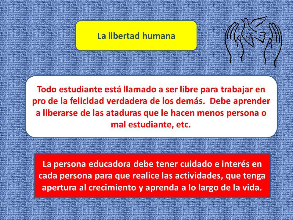 La libertad humana