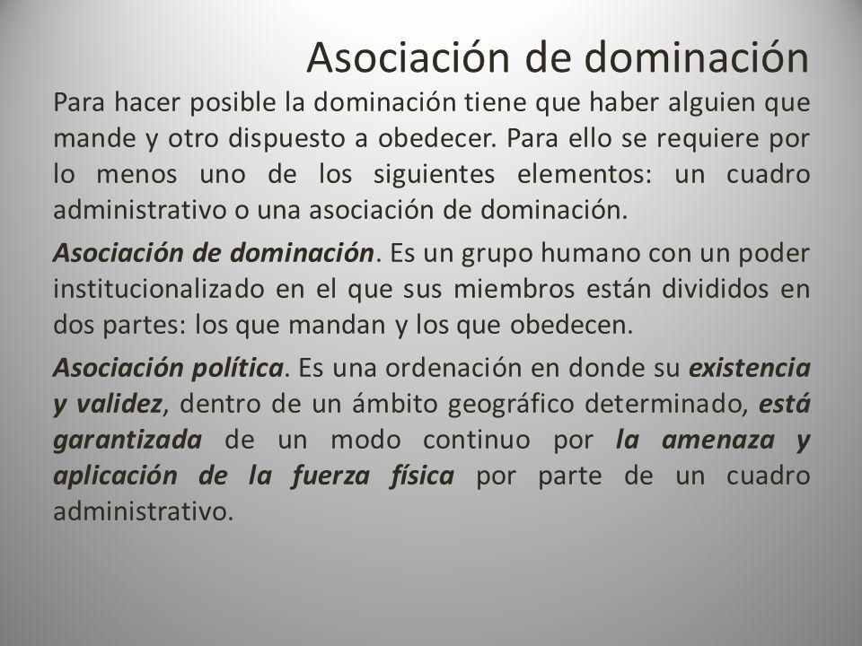 Asociación de dominación