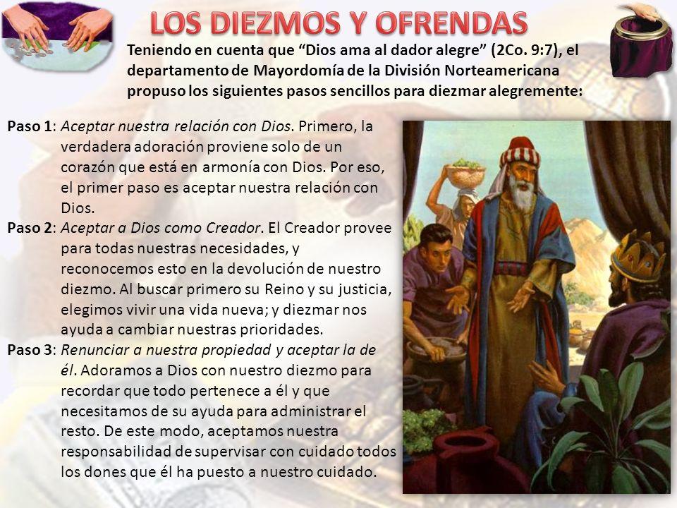 LOS DIEZMOS Y OFRENDAS