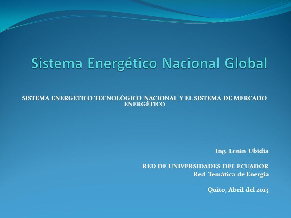 Sistema Energético Nacional Global
