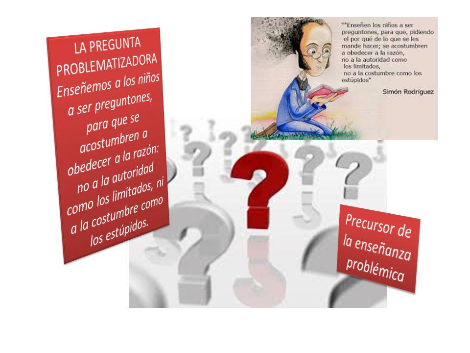 Precursor de la enseñanza problémica