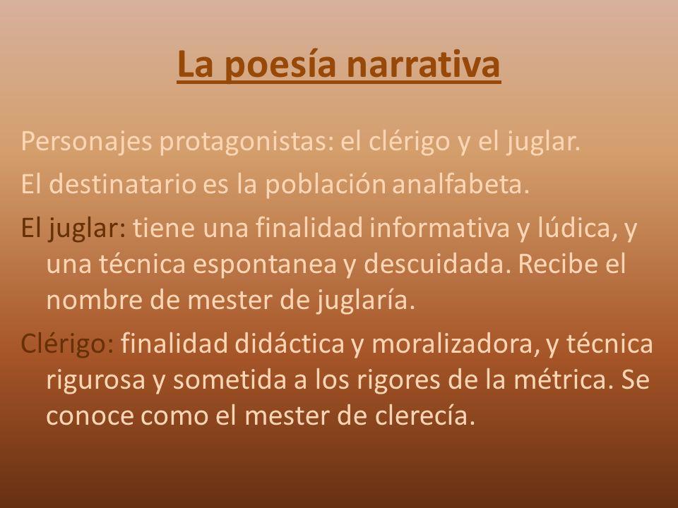 La poesía narrativa