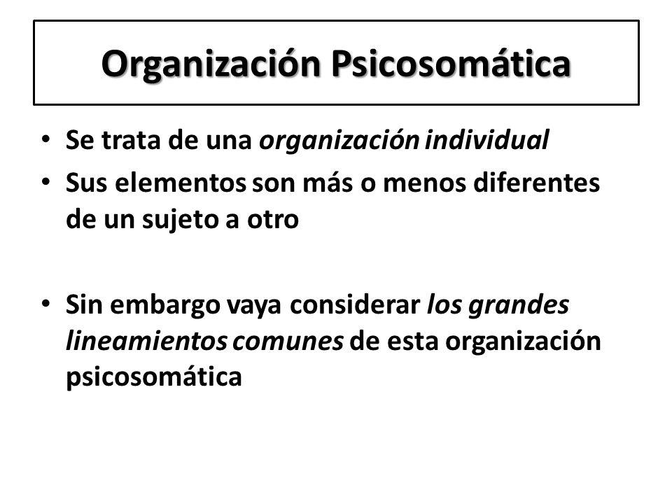 Organización Psicosomática