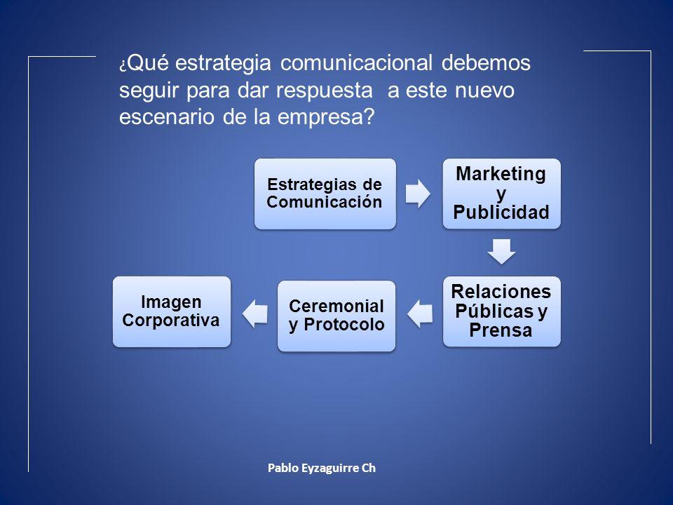 Marketing y Publicidad Relaciones Públicas y Prensa