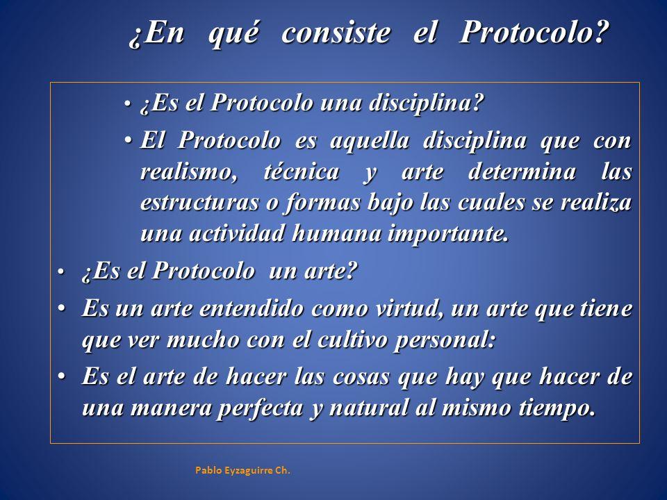 ¿En qué consiste el Protocolo