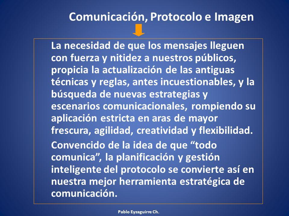 Comunicación, Protocolo e Imagen