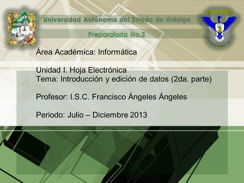 Área Académica: Informática