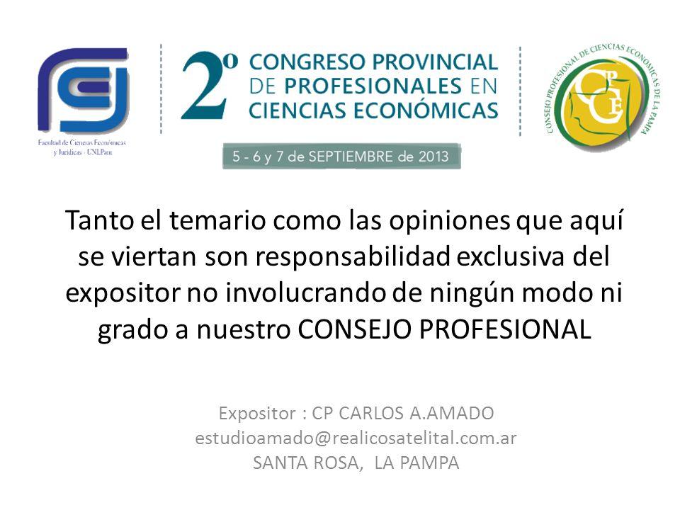 Expositor : CP CARLOS A.AMADO