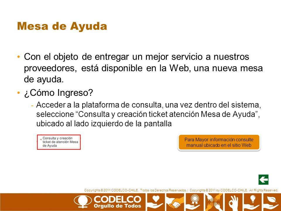 Para Mayor información consulte manual ubicado en el sitio Web
