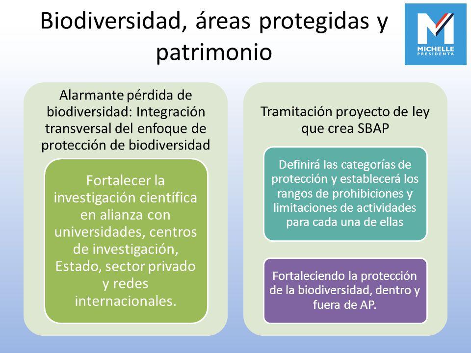 Biodiversidad, áreas protegidas y patrimonio