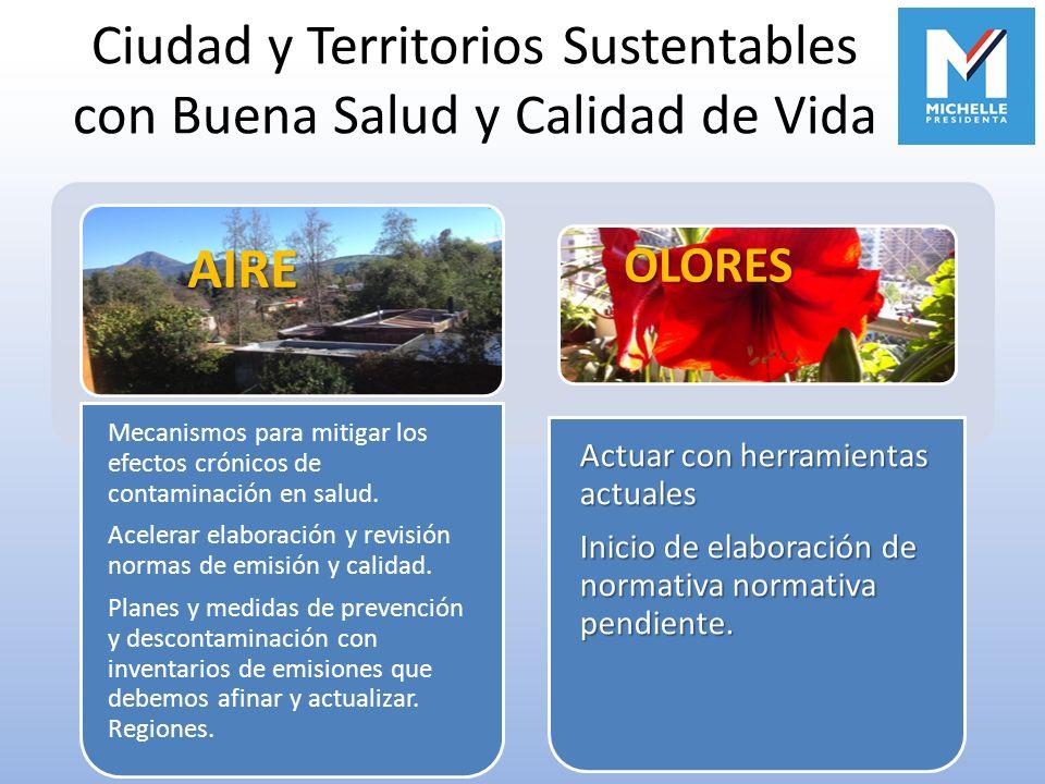 Ciudad y Territorios Sustentables con Buena Salud y Calidad de Vida