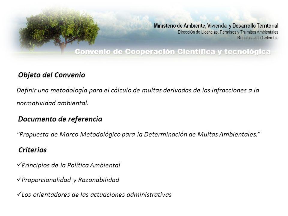 Convenio de Cooperación Científica y tecnológica